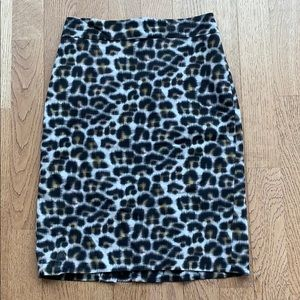Leopard Print Pencil Skirt | Ann Taylor